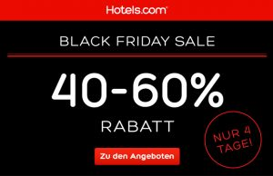 Hotels.com Black Friday
