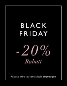 Black Friday bei Intimissimi