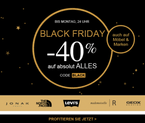 Black Friday bei La Redoute