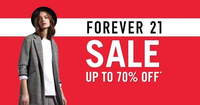 Popular Forever 21 Coupon Codes & Deals