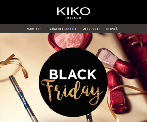 KIKO Milano Black Friday