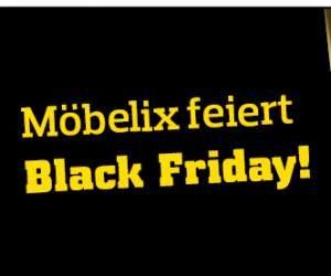 Möbelix feiert den Black Friday