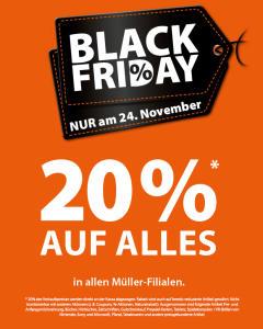 2cf82fe12afb39 Unsere Vorhersage für die Rabatte bei Müller zum Black Friday 2019