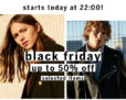 Bershka Black Friday bis zu 50%